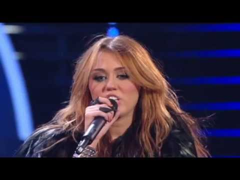 Miley Cyrus  Cant Be Tamed  Britains Got Talent 2010