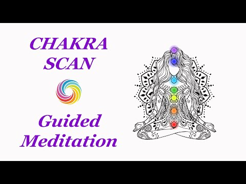 CHAKRA Guided Meditation | Complete Chakra Scan and Self-Dis