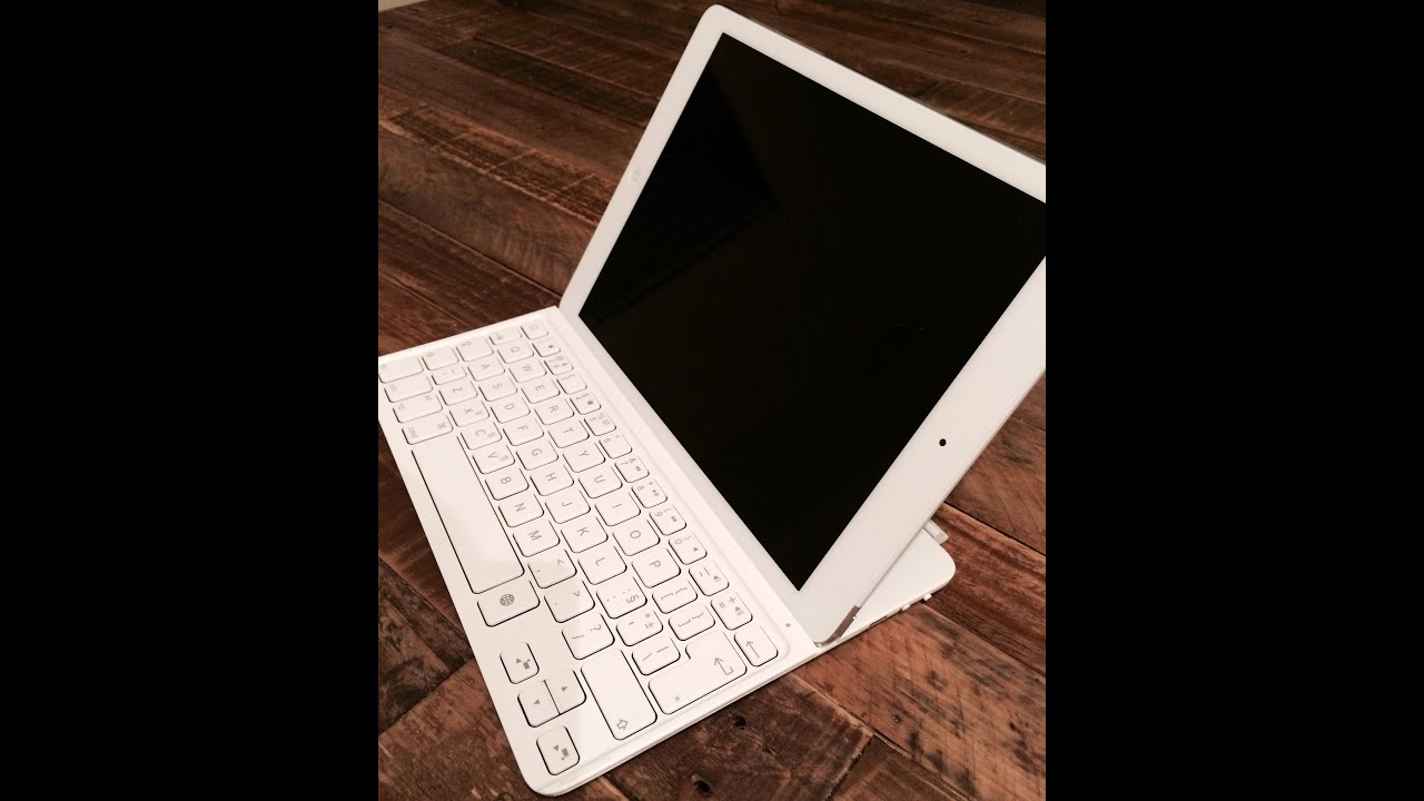 logitech keyboard for ipad air instructions