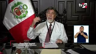 🔴EN VIVO Mensaje a la Nación del presidente de la República Francisco Sagasti