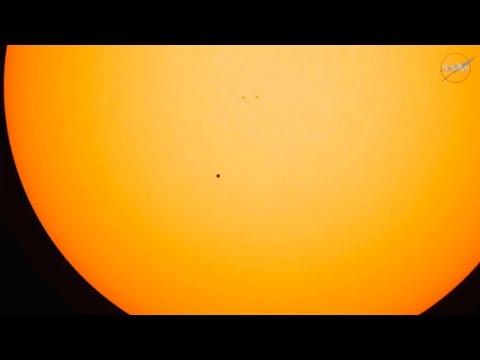 Full Mercury Transit NASA TV stream