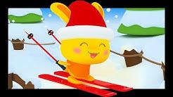 L'hiver, la neige et le ski + 45 min de comptines bébé Titounis