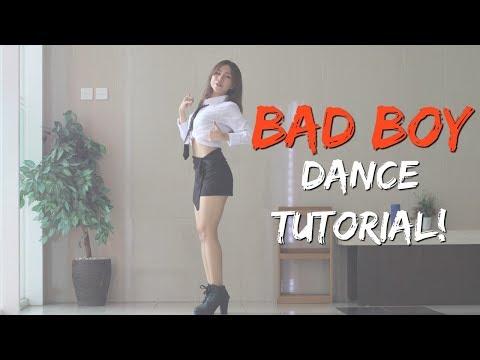 [MIRRORED] Red Velvet 레드벨벳 'Bad Boy' DANCE TUTORIAL   stepbystep