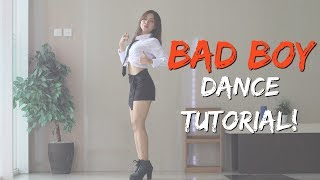 Download Video [MIRRORED] Red Velvet 레드벨벳 'Bad Boy' DANCE TUTORIAL | stepbystep MP3 3GP MP4