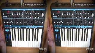 mmag.ru: Синтезатор Novation Bass Station II  - видео обзор 3d
