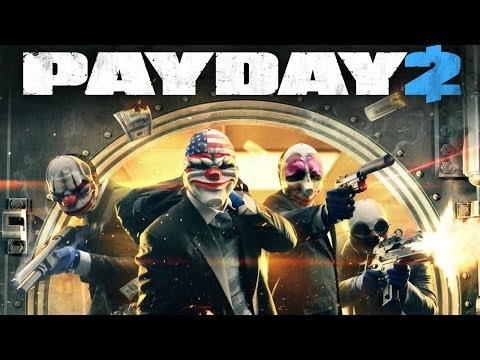 Payday 2 Co-op: Bank Heist (Deposit Boxes)