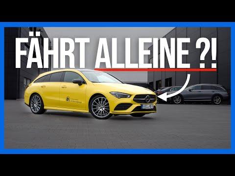 Mercedes-Benz Fahrbericht: CLA fährt FAST von alleine! 😱