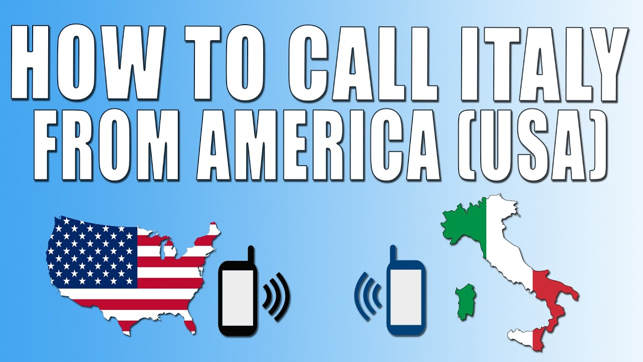 How to call in Italy