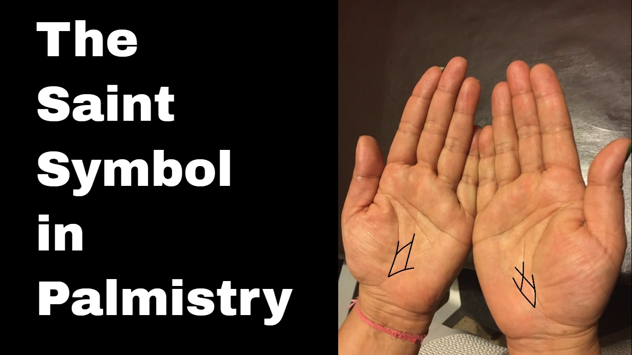 Indian Palmistry Symbols The Saint Symbol And Protection Youtube