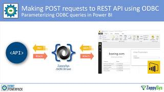 For more information check https://zappysys.com/products/odbc-powerpack/ this demo shows how use zappysys api drivers to load json / xml rest into power ...