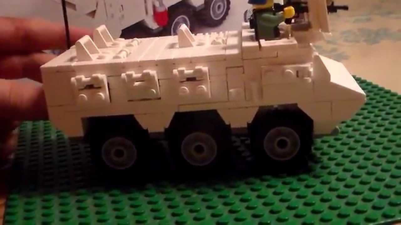 Armored Vehicles For Sale >> Brickmania UN 6X6 APC Review - YouTube