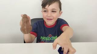 PJ Masks Kinder Surprise Eggs Toys opening with Zack