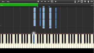 Eagles - Take It To The Limit Synthesia Tutorial