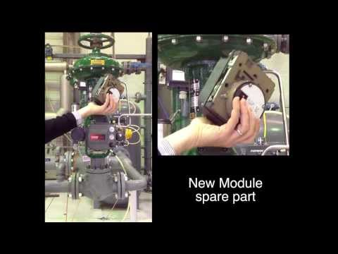 How To Replace A Module Base In The Fisher FIELDVUE DVC6200 Instrument