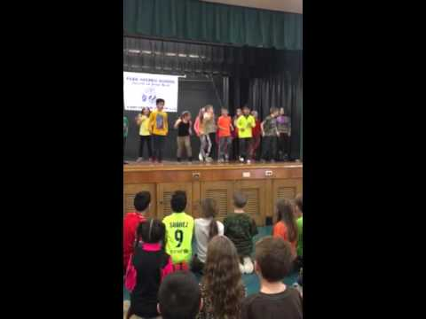 2nd Grade Griffin 2016 Dance Residency