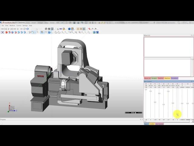 SolidCAM 2016 - Interaktive Maschinenvorschau