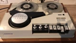 Grundig BK 100 / BK100, Spulenrekorder Aus Dem Jahr 1968, Restauriert