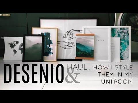 DESENIO HAUL + DISCOUNT & HOW I STYLE PRINTS IN MY UNI ROOM //PHOEBE SLEE