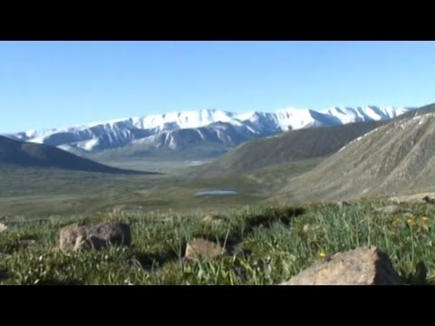 Russia China Gas Pipeline Through Protected Altai Mountains in Siberia