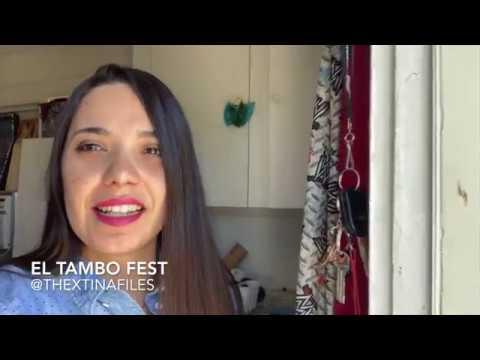Art sales at El Tambo Fest with Cristina Perez