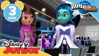 Miles From Tomorrow | The First Day Of Galactic School  | Disney Junior UK