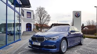 289kph in the ALPINA B7 - First impressions 2017 - BMW M4 DTM
