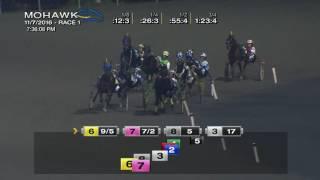 Mohawk, Sbred, Nov. 7, 2016 Race 1