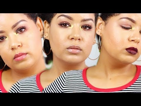 CRANBERRY AND GOLD SMOKEY EYE MAKEUP TUTORIAL ll SOUTH AFRICAN BEAUTY YOUTUBER