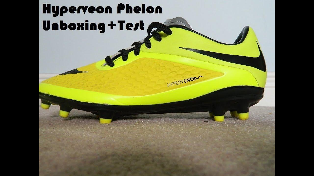 brand new 95dda 8f130 ireland nike hypervenom phantom iii elite df fg grau 6947e 7cc42  buy nike  hypervenom phelon fg vibrant yellow unboxingtest youtube 882f8 81c13