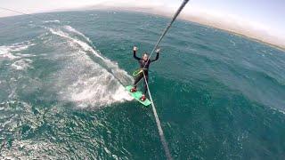 kitesurfing Lake Sevan in Armenia!