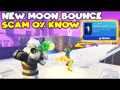 NEW Moon Bounce SCAM Is MYTHIC! 🌒💯 (Scammer Gets Scammed) Fortnite Save The World