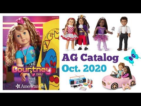 American Girl Christmas Items 2020 - October Catalog - Nutcracker And Courtney Items