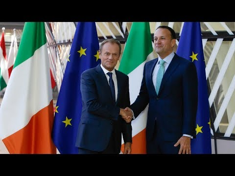 Watch Leo Varadkar and Donald Tusk deliver a joint statement on Ireland and the EU from Brussels