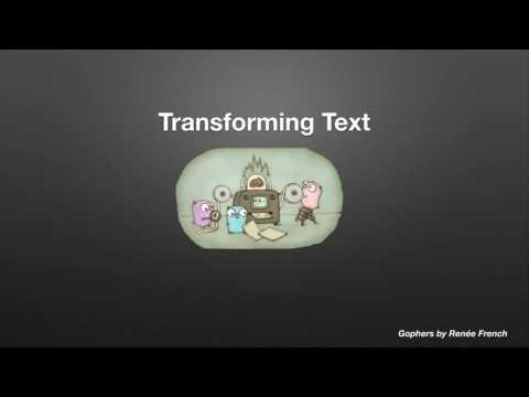 GopherCon 2016: Marcel van Lohuizen - Handling Text from Around the World in Go