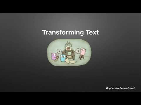 Handling Text from Around the World in Go