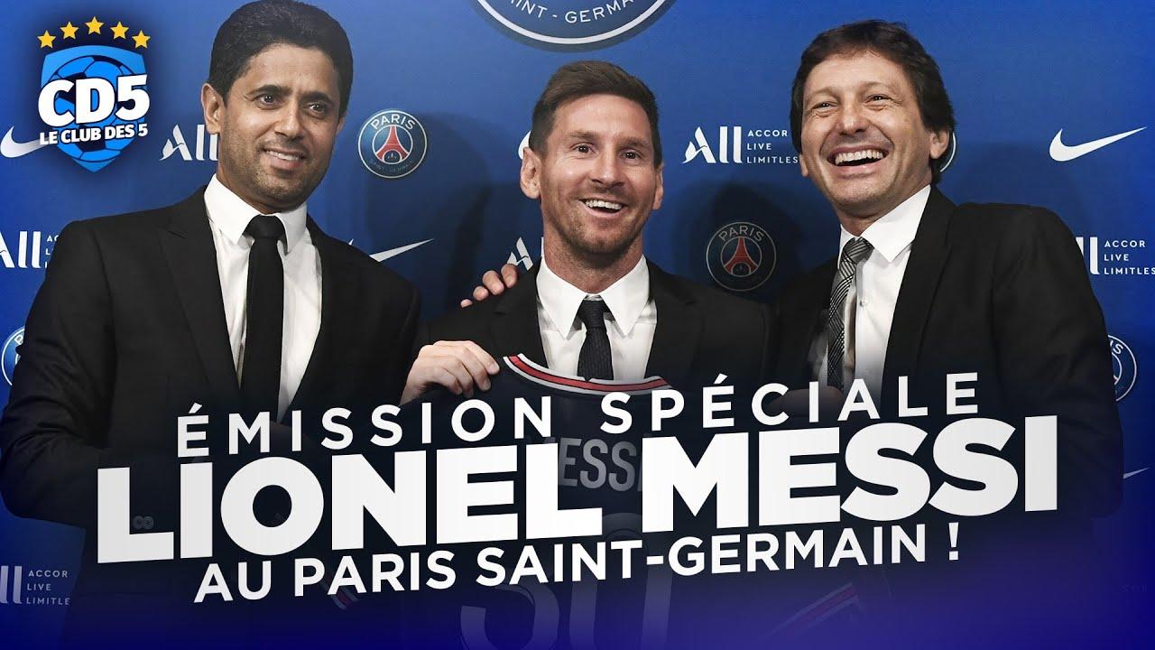 Download Lionel Messi au PSG ! Débrief #922 - #CD5