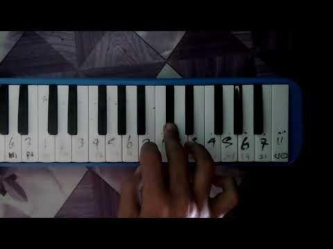 Virgoun - Bukti Pianika Cover Not Angka Melodi