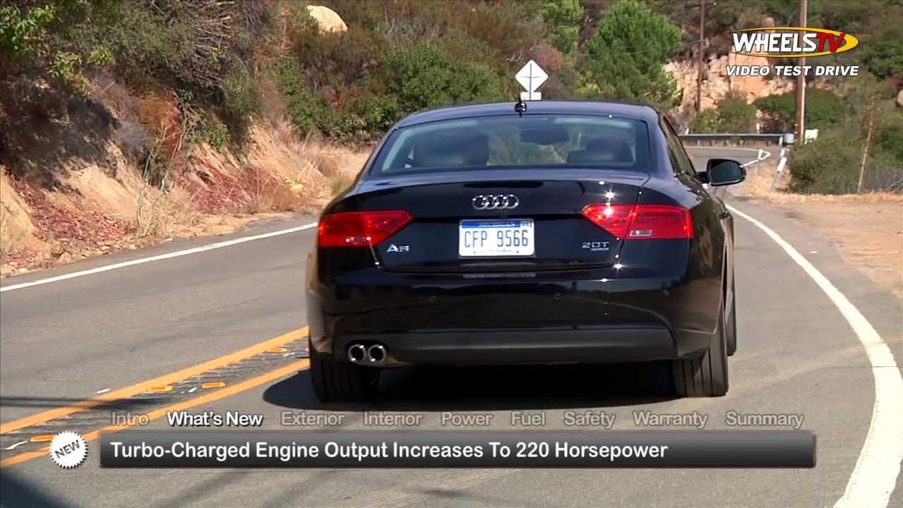 2014 Audi A5 Test Drive Youtube