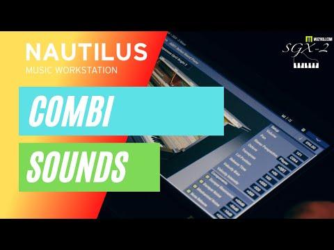 KORG NAUTILUS COMBI SOUNDS