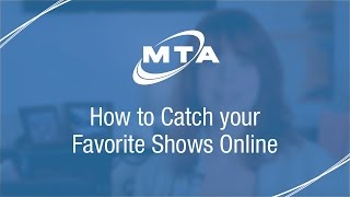 How to Watch TV Shows Online