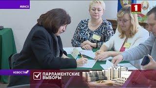 Наталья Кочанова проголосавала на парламентских выборах / Видео