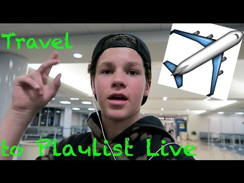 Traveling to Playlist Live in Orlando Florida