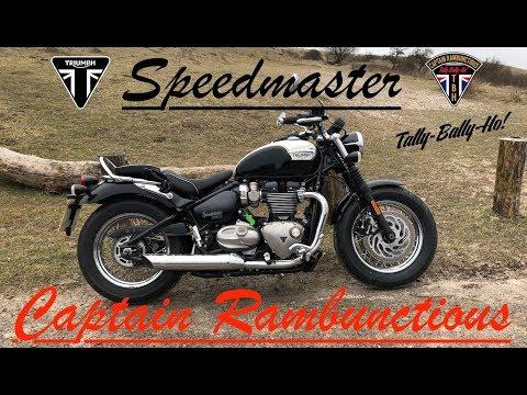 2018 Triumph Speedmaster 1200 HT  - 1st Ride & Review