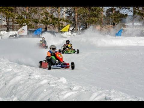 Karting. Race. Ordinsk.