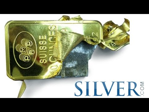 How to Test for Fake Silver & Gold Bullion INFOGRAPHIC by Si