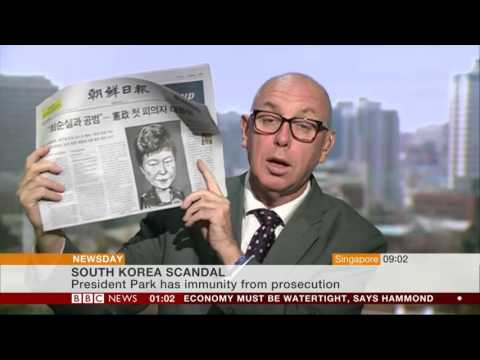 BBC World News Newsday - South Korea corruption scandal