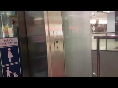Lift at dhoby ghaut station