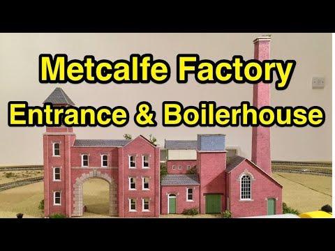 Metcalfe Factory Entrance & Boilerhouse (Building, Closer Look & Review)
