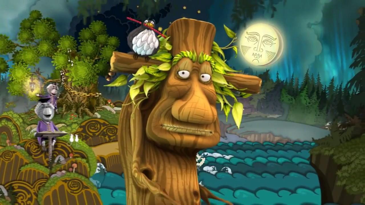 Пушкин на финском языке: У Лукоморья дуб зелёный - YouTube