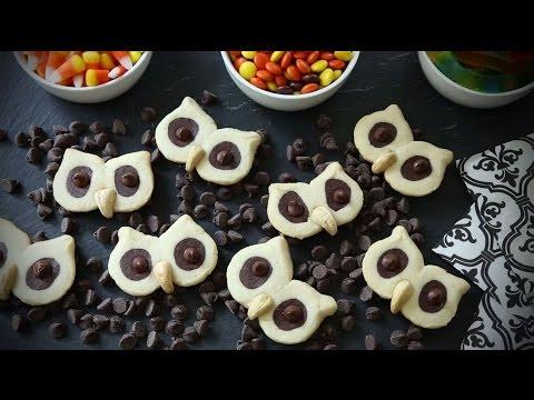 Halloween Recipes - How to Make Hoot Owl Cookies